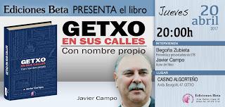 Invitación Presentación Libro Getxo