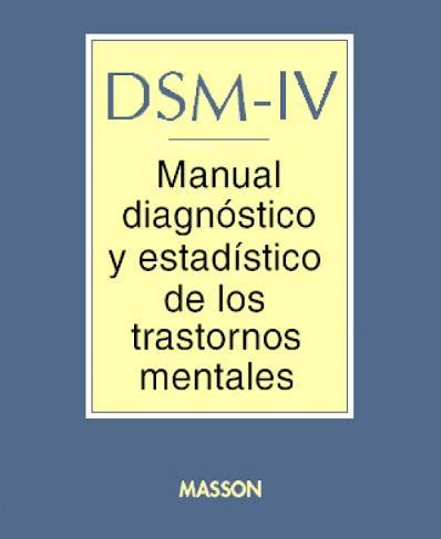 APA Diagnostic Classification DSM-IV-TR BehaveNet