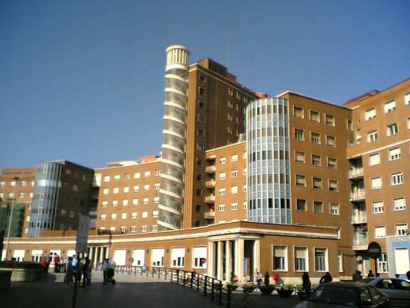Fachada del hospital de Cruces (Vizcaya)